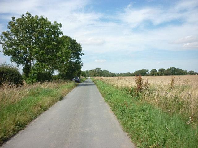 Carr Lane at Nafferton Carrs