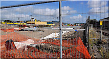 J3272 : New train maintenance depot, Belfast (7) by Albert Bridge