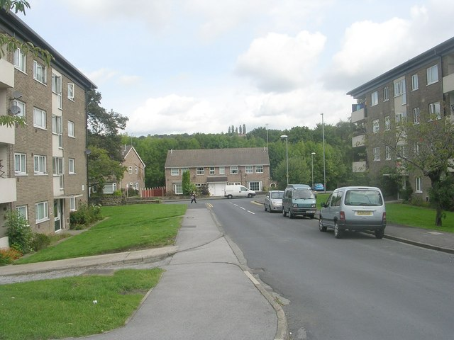 St James Drive - viewed from St James Avenue