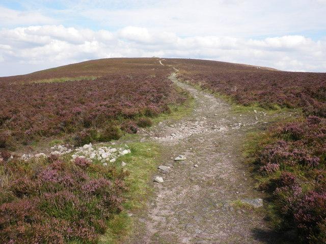 Path towards Dunkery Beacon