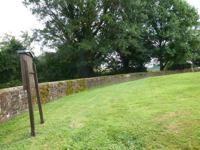 St Mary Mapledurwell: churchyard (1)