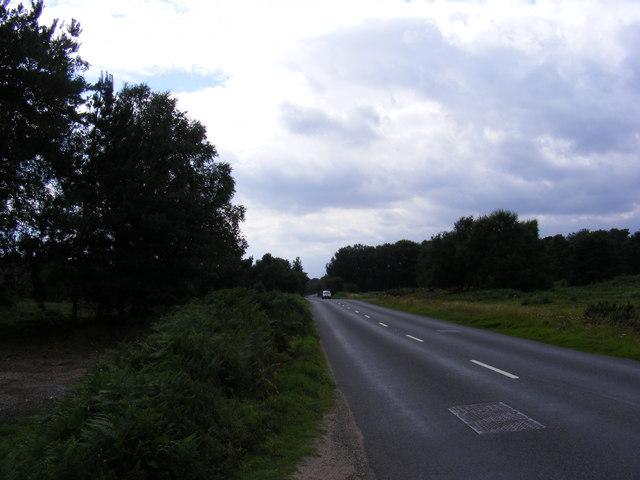 B1069 looking towards Tunstall