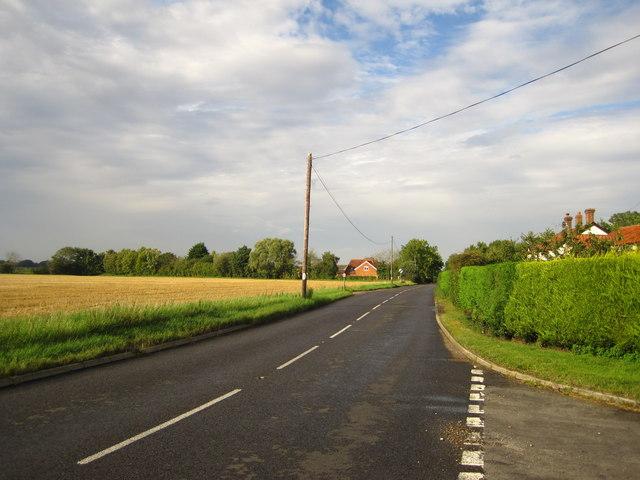 A1120 near Town House Corner