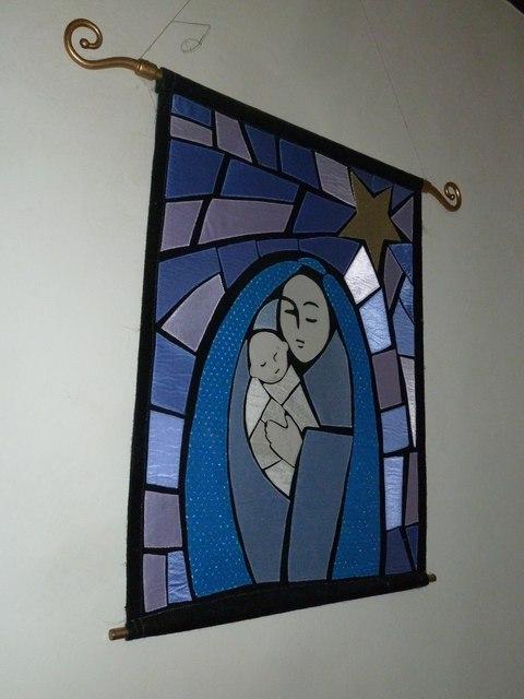 St Mary Mapledurwell: banner