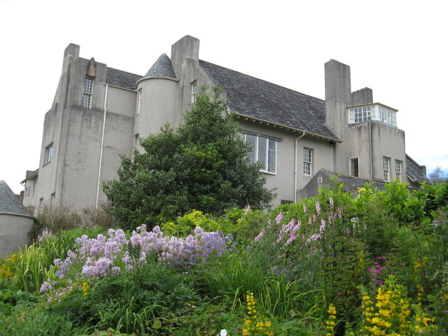 Herbaceous borders at Hill House