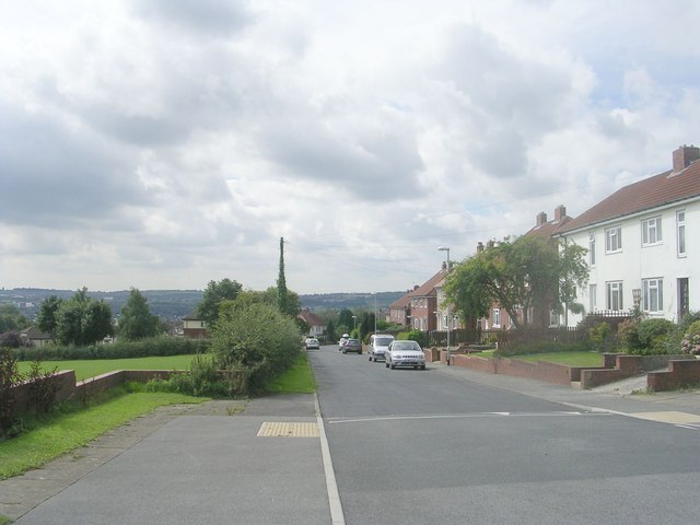 Drury Avenue - viewed from Grove Road