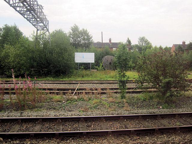 Crewe Yard behind Gresty Road