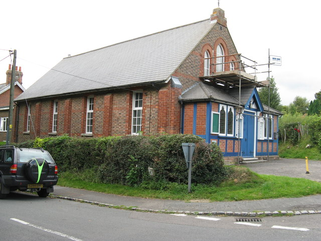 Methodist Chapel under repair
