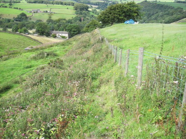 Footpath between Stainland Dean and Moor Hey Lane (Obstructed)
