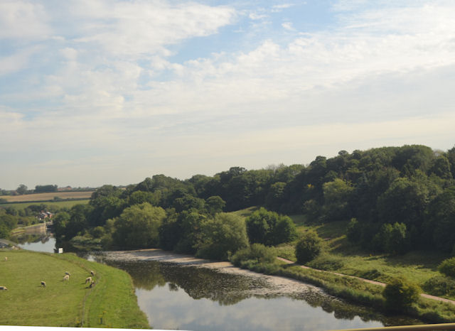 River Weaver from Dutton Viaduct