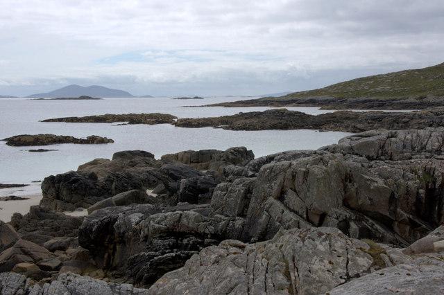 Rocky coast at Huisinis