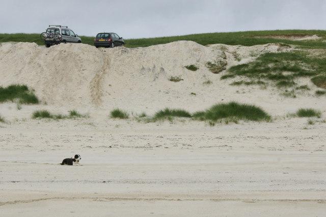 Dunes behind Traigh Hushinish