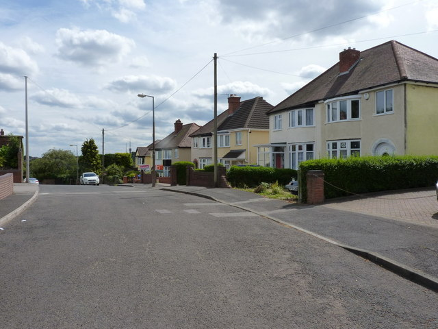 Tansley Hill Road, Cawney Hill