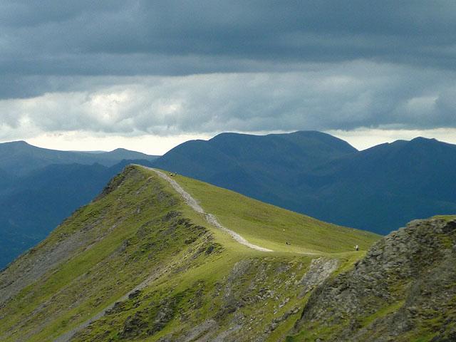 The top of Gategill Fell, Blencathra