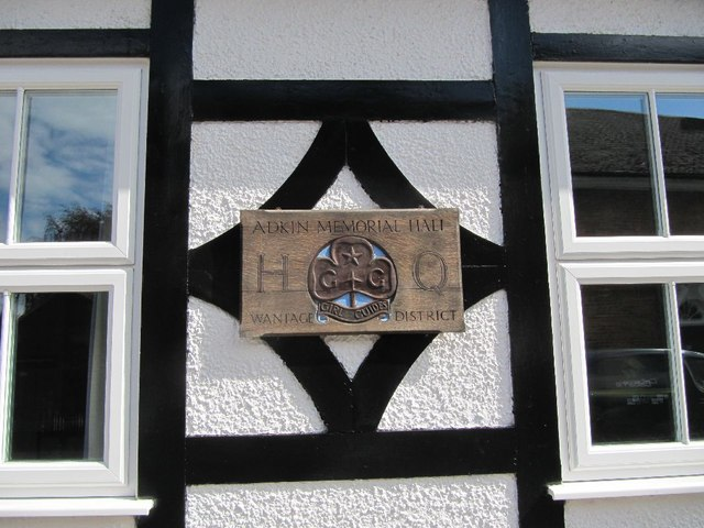 Plaque on the hut