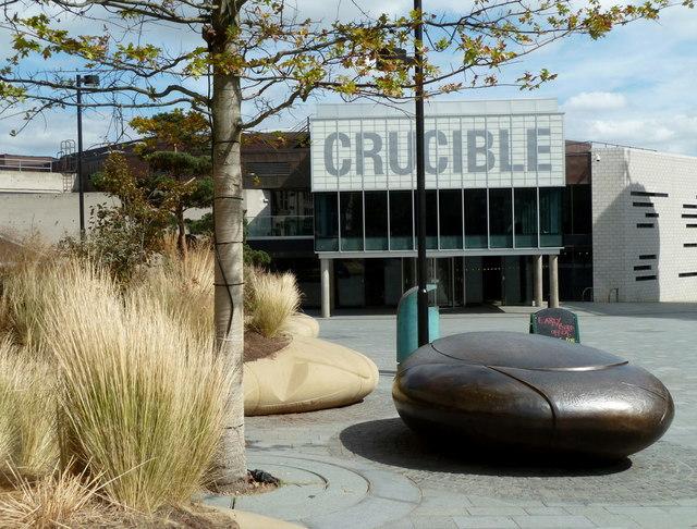 Tudor Square and The Crucible, Sheffield