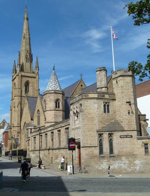 Cathedral Church of St Marie, Sheffield