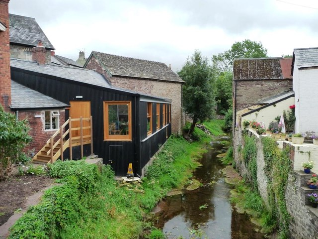 The bakers' table, a new riverside cafe