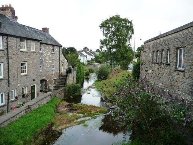 River Ellywe downstream of watermill