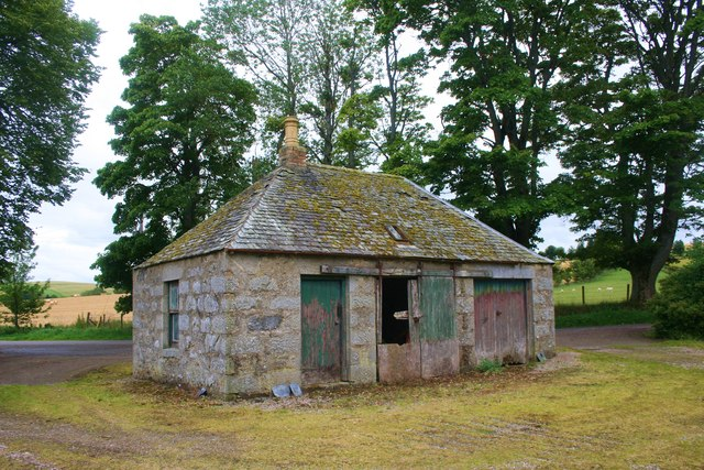 Outbuilding by the Church
