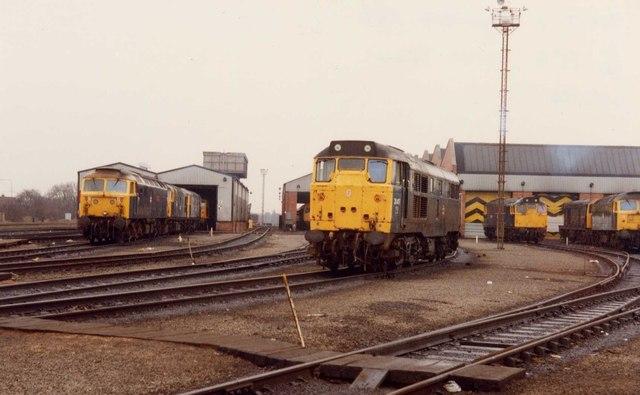 Haymarket Traction Maintenance Depot, 1984