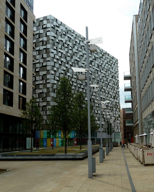 Modern architecture, Sheffield city centre