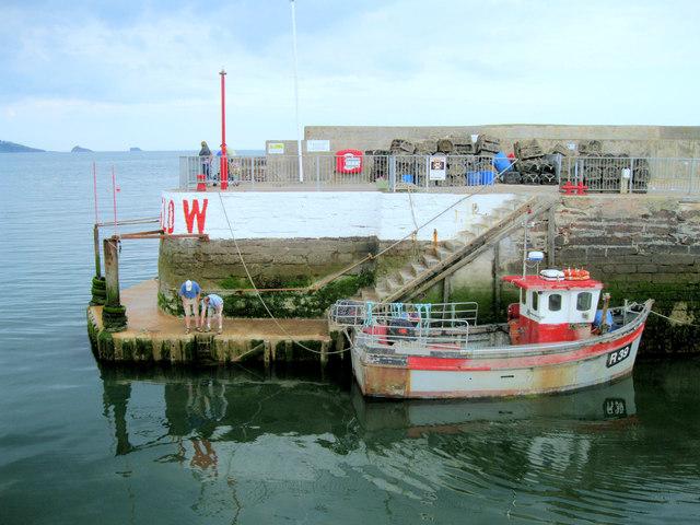 Entrance to Paignton Harbour