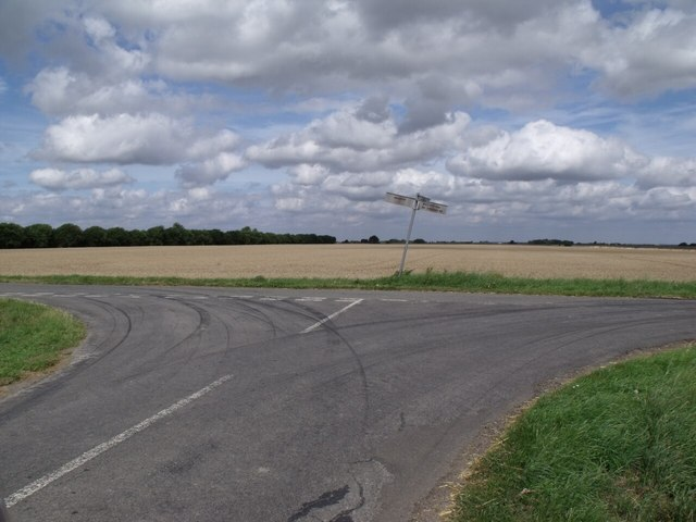 Junction of Parson Drove and Long Drove