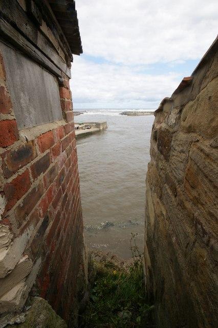 Boathouse Yard, Staithes