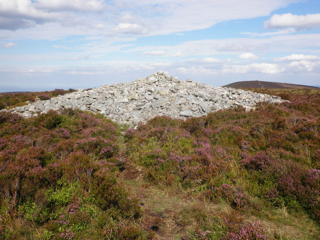 Cairn, on Little Rowbarrow