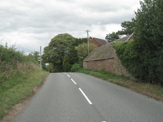 Lower House Lane by Baddesley Farm