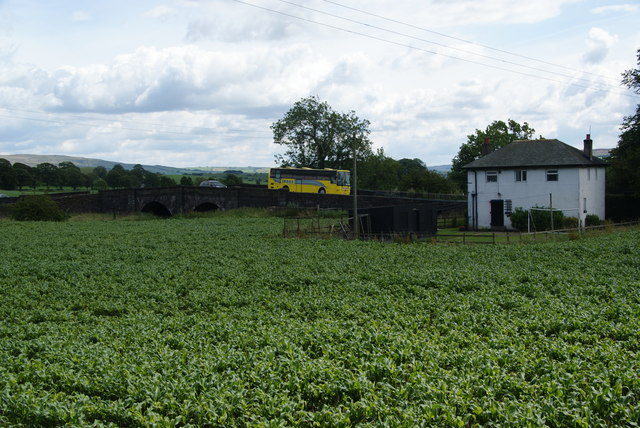 A crop between the A65 and the Leeds and Liverpool Canal