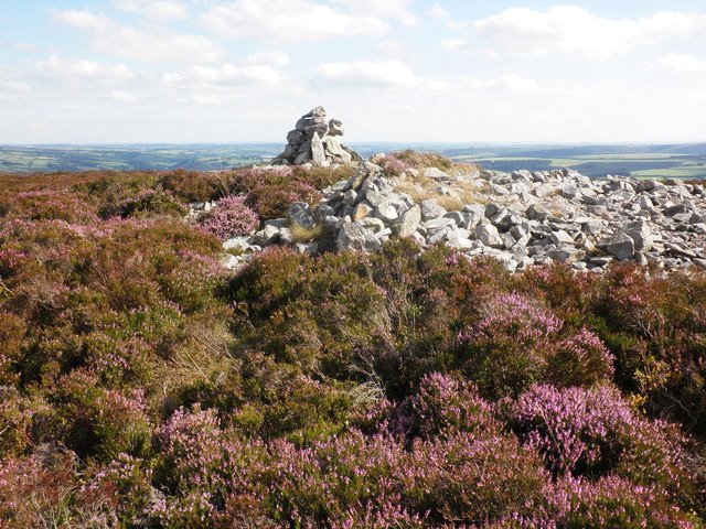 Cairn, to the south west of Great Rowbarrow