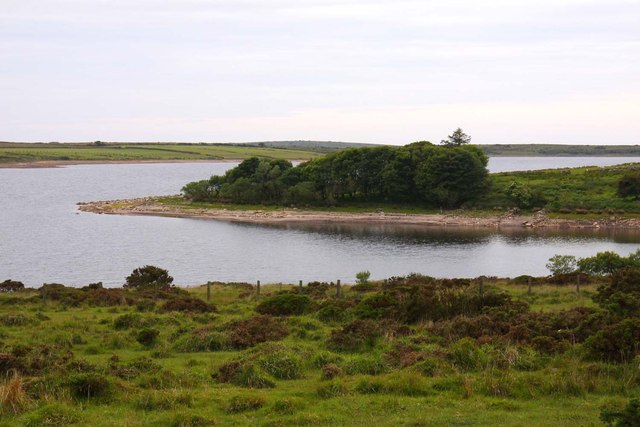 Promontory in Colliford Lake