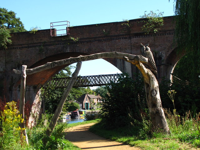 Three bridges - Woodbridge meadows