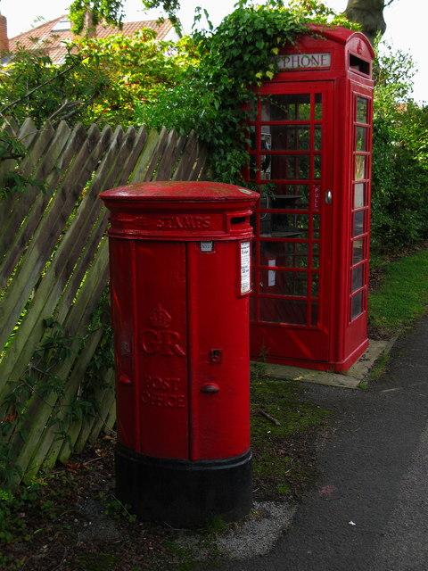 GR Pillar Box, St Hilda's Road, Harrogate