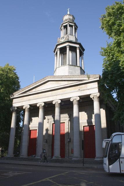 St  Pancras Church, Upper Woburn Place