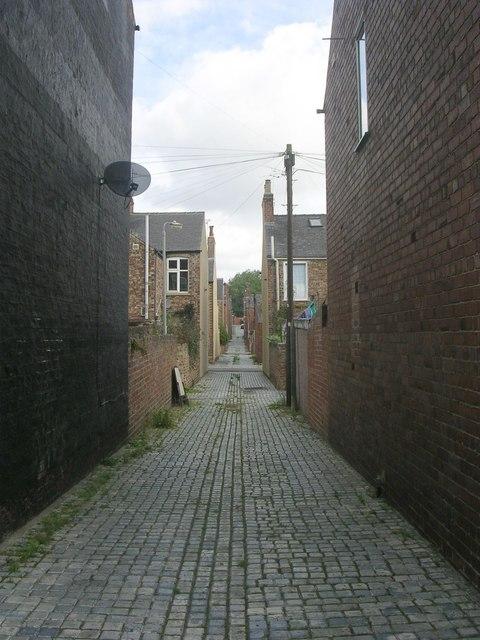Passage - off Jamieson Street