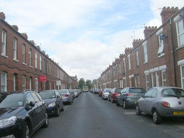 Queen Victoria Street - viewed from Passage off Jamieson Street