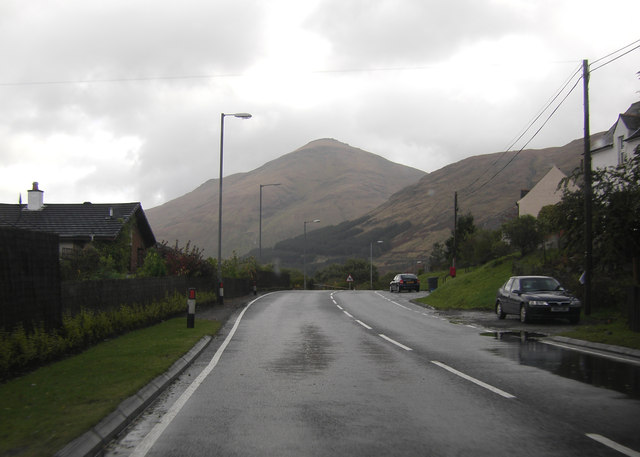 A82 entering Crianlarich