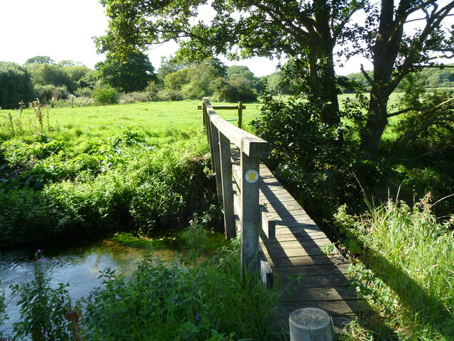 Berwick, footbridge
