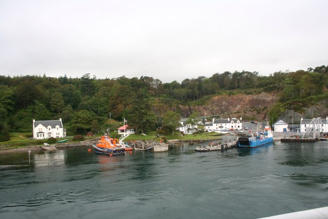 Lifeboat and Ferry