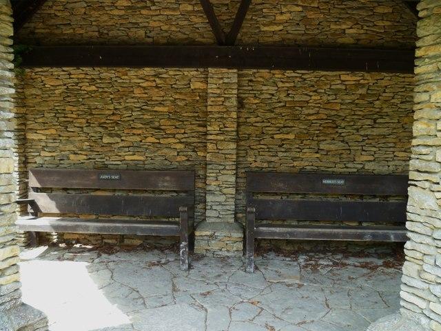 The seats at Cora's Corner