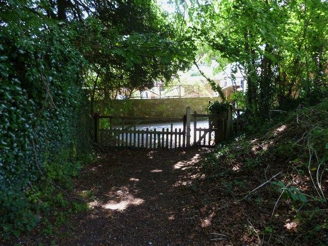 Footpath gate at Poynings