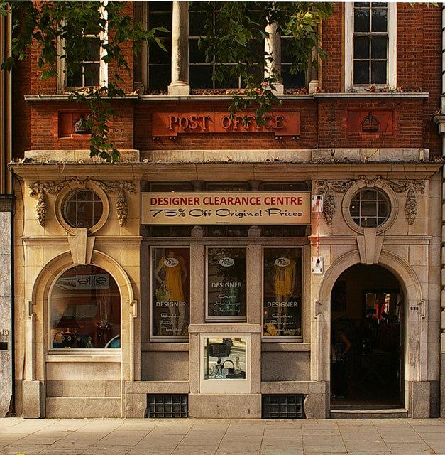 Former post office, King's Road, Chelsea