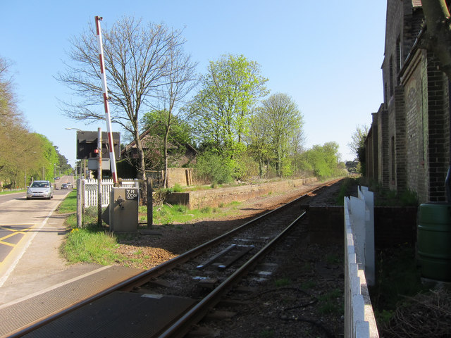 Closed railway station, Six Mile Bottom