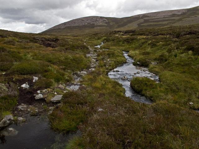 Path near Beinn Losgarnaich