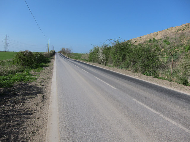 New Camgrain access road