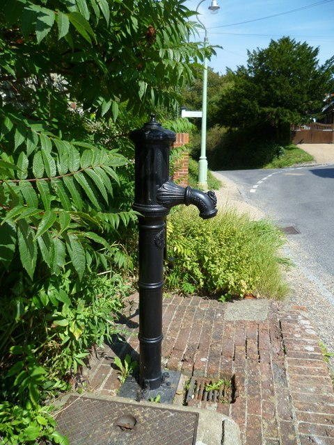Village pump in Fulking
