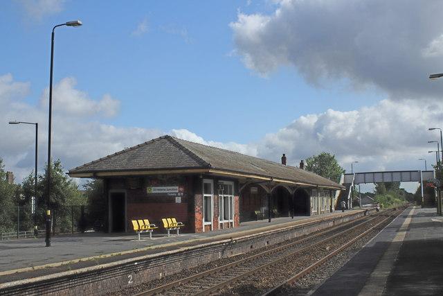 St Helens Junction Station